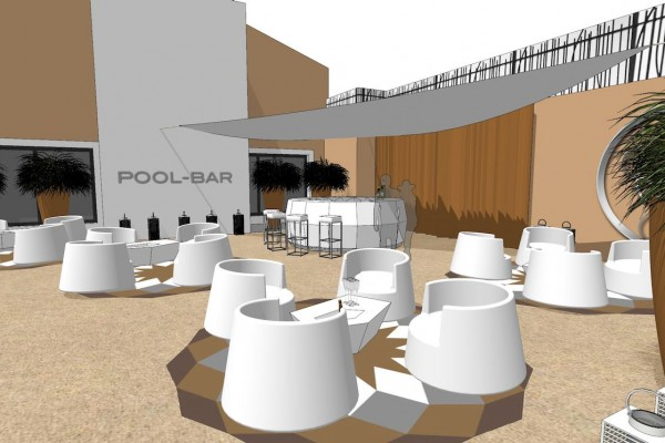Pool Bar - SPA Juvignac